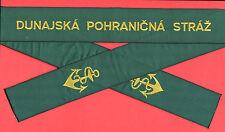 █► Czechoslovakia Border Guard 1980 mützenband cap Tally ha banda Ribbon
