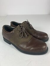 Rockport Mens Size 11 /12 M Leather Bucks Brown MS-163