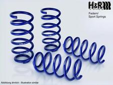 Muelles H&R Seat Leon 5F SC + FR 2WD validos para eje trasero rigido y multilink