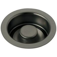 """Delta 72030 Classic 4-1/2"""" Brass Flange and Disposal Stopper - Stainless Steel"""