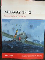 Battle of Midway Turning Point in Pacific 1942 WW2 Osprey New Book