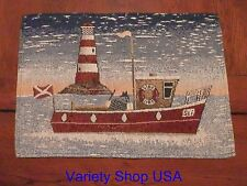 Lighthouse Placemats Tapestry Cloth Style C 1pc
