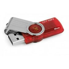 Kingston 8GB  DT 101 G2 Flash Drive 8G 8 G GB DataTraveler DT101 Fast New
