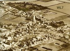 North Norfolk Postcard - Wells next the Sea - from the Air circa 1930 - WL7