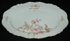 """EDELSTEIN FINE CHINA OVAL SERVING PLATTER 13"""" MARIA THERESIA EMPOCIA PATTERN"""