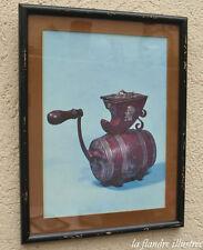 cadre moulin à café - Kaffeemühle - Grinding coffee 3