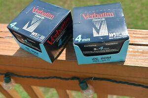 10 Verbatim DataLife2.0GB4MM-DL 90M Data Cartridges DSS1 -New Sealed BinAA