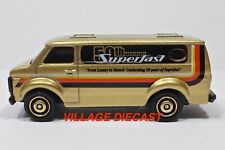 "2019 Matchbox ""Service Squad"" Chevy® Van GOLD METALLIC / SUPERFAST 50th / MINT"