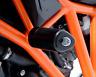 R&G AERO CRASH PROTECTORS BLACK 1 PAIR KTM 1290 SUPER DUKE R '2019' CP0361BL
