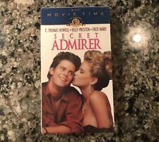 Secret Admirer New Sealed Vhs. 1985 Teen/Comedy.