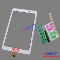 Original White Touch Screen +UV Glues for Huawei MediaPad T1 8.0 T1-821L ZVLT568