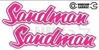 Holden HQ - HJ -  SANDMAN PINK XX Large Decal  - Stickers