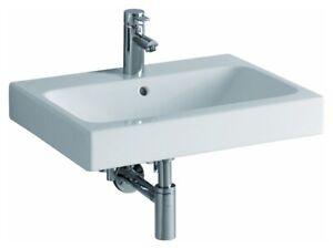 Keramag / Geberit iCon Waschtisch 600mm x 485mm - Weiß Alpin - 124060000