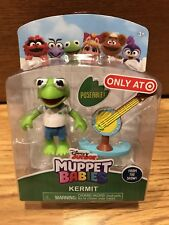 Disney Junior Muppet Babies Kermit the Frog & Banjo Target Mini Muppets Figure