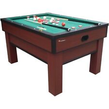 Atomic Classic Bumper Pool G02251AW Billiards Game Room Table + Balls Cues Brush