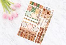 Pumpkin Pie - Hobonichi Weeks - Weekly Planner Kit - Personal Planner Stickers