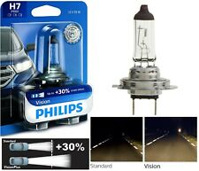 Philips VIsion 30% H7 55W One Bulb Head Light Low Beam Replacement Upgrade Lamp