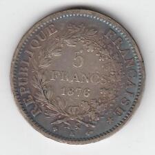 1876 K France 5 Francs Coin 37mm. 25gr. SILVER 900  #10