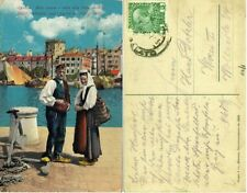 GG419-CROAZIA, SPLIT-SPALATO, MOLO VENETO E VISTA ALLA RIVA VECCHIA, 1912 (?)