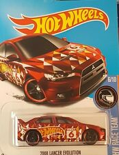 HOT WHEELS 2008 LANCER EVOLUTION KMART EXCLUSIVE ☆ HW RACE TEAM 2016 VHTF #6/10