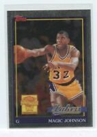 MAGIC JOHNSON 2000-01 Topps Chrome Commemorative Series MJ9 Los Angeles Lakers