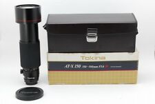 【B- Good】Tokina AT-X SD 150-500mm f/5.6 MF Lens for Nikon w/Box From JAPAN R3470