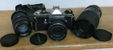 Vintage Pentax Asahi Me 35mm Camera with Accessiories