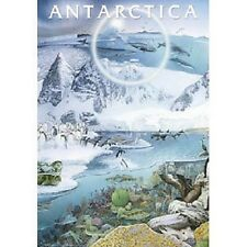 Safari Ltd Antarctica Non Laminated Poster #  320421 NEW