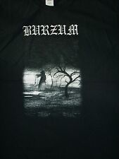 FREE SAME DAY SHIPPING NEW 666BURZUM MAYHEM WHEN NIGHT FALLS 2 SIDE SHIRT MEDIUM