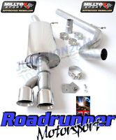 Milltek Polo GTI 1.4 Exhaust Cat Back System Stainless Non Resonated SSXVW155