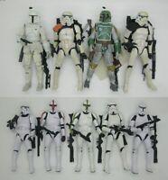 "Star Wars Black Series 6"" Action Figure clone trooper boba fett stormtrooper"