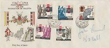 MALTA 1966 FDC. Valletta first day cover Addressed Valletta Postmark