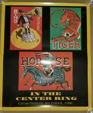 Jim Pollock - 1996 - Phish In Center Ring (Circus Prints) Concert Poster