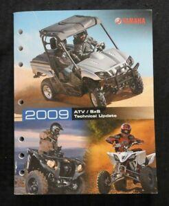 2009 YAMAHA GRIZZLY 550 700 ATV RHINO 450 660 700 SxS SERVICE SCHOOL MANUAL 400p