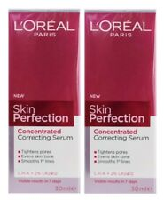 2 X LOREAL 30mL SKIN PERFECTION CONCENTRATED CORRECTING SERUM - ALL NEW