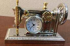 Miniature Sewing Machine Quartz Clock