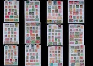 Stamp Collection From Belgium And Belgium Congo, Free Shipping Worldwide