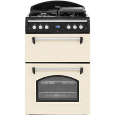 Leisure GRB6GVC Gourmet Free Standing Gas Cooker with Gas Hob 60cm Cream New