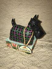 JIM SHORE Mac Rover Scottie Dog Figurine Black 4004855 2005