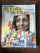 For Better or For Worse Cartoonist Lynn Johnston Autographed Sketch Signed Book