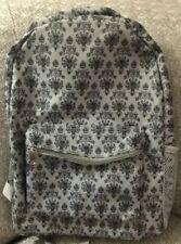 Nwt Disney Parks Haunted Mansion Creepy Wallpaper Backpack Large