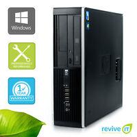 HP Elite 8200 SFF  i5-2400 3.10GHz 4GB 500GB Win 10 Pro 1 Yr Wty