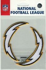 "SAN DIEGO CHARGERS NFL FOOTBALL 3.25"" STICKER PATCH SET"