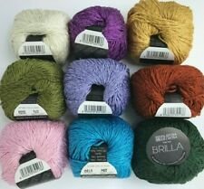 Filatura Di Crosa BRILLA - Your Choice 9 Colors DK Cotton Viscose Yarn Skeins