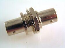 Radiall presa BNC da pannello Presa adattatore di montaggio di qualità 50Ω Gold Pin Can3 OM733