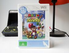 NEW PLAY CONTROL! MARIO POWER TENNIS - NINTENDO WII | COMPLETE