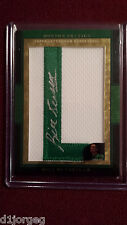 Bill Russell 2008 Topps Letterman Superfractor L Patch Signature Auto #1/1