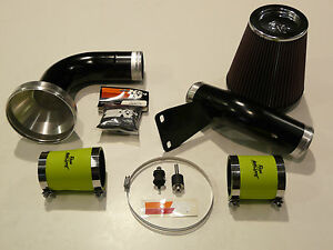SPEC-R FORD FOCUS RS MK2 GROUP A INDUCTION KIT BLACK ALLOY. ROOSE HOSES