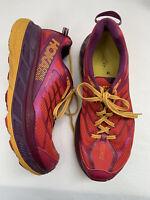 HOKA One One Women's Stinson ATR 4 Running Shoes Red Purple size 10
