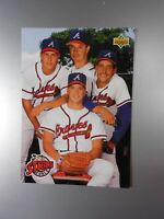 1993 Strike Force Atlanta Braves MINT CARD #472 Upper Deck